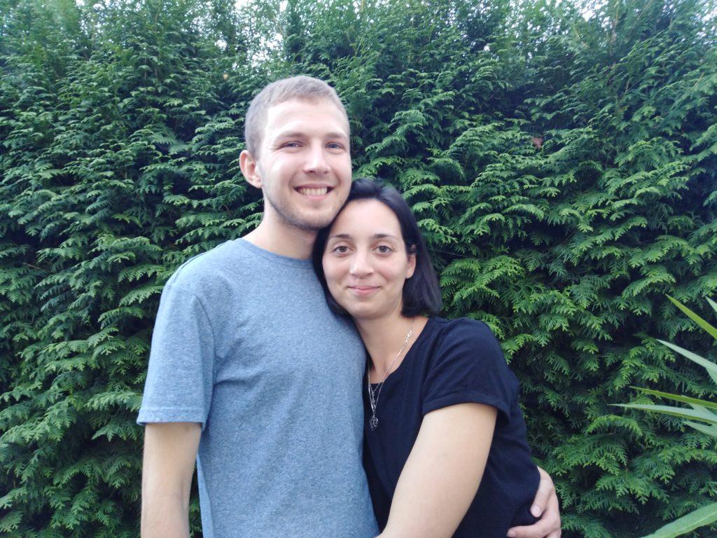 To jsme my dva - Lucie a Matouš.